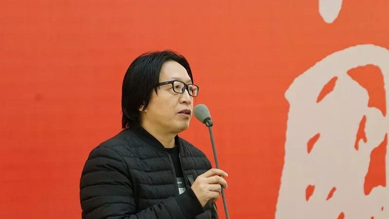 中国国家画院创研部副主任赵培智致辞