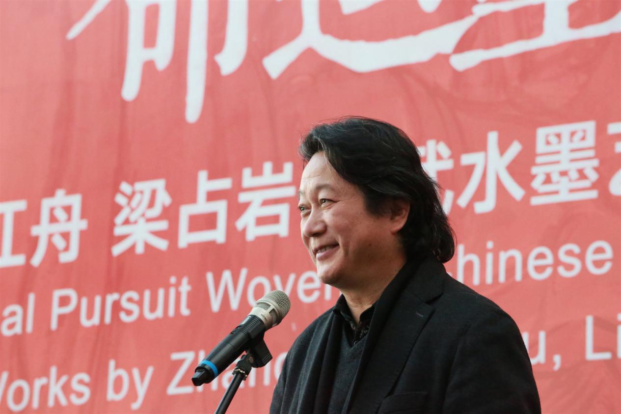 中国国家画院副院长  张江舟