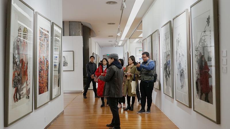 """中国国家画院艺术信息中心主任王平""""带你看展览"""""""