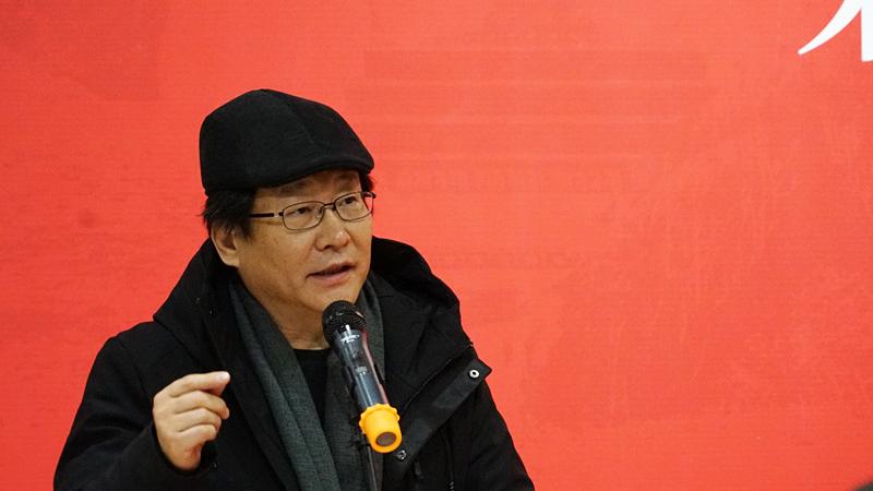 中国国家画院研究员李洋致辞