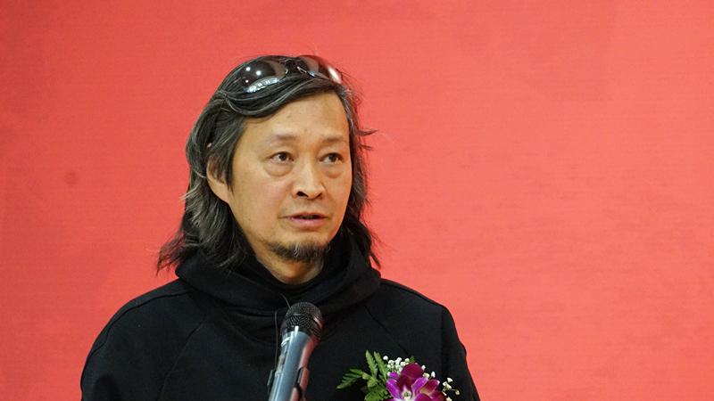 中国国家画院创作研究部主任何加林致辞