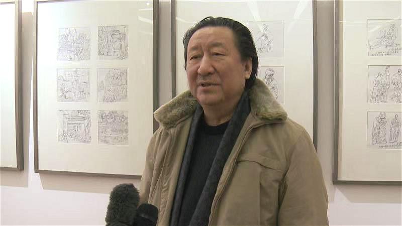 采访中国国家画院院长杨晓阳