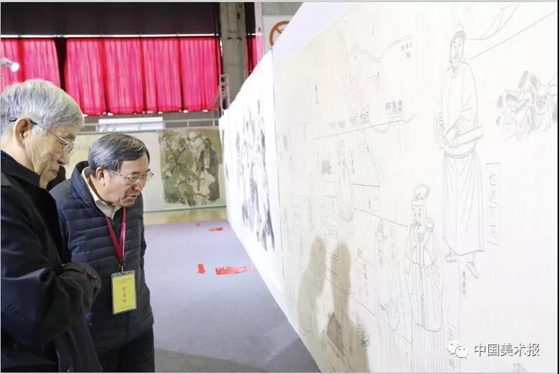葛剑雄、刘庆柱在验收评审现场
