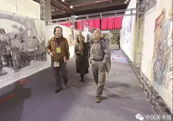 孙景波、杨晓阳、阿鸽在验收评审现场