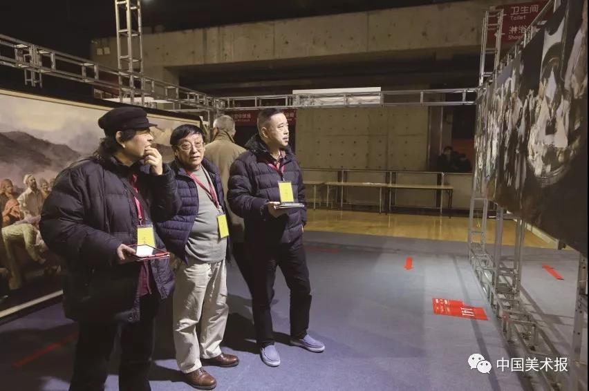 郭润文、刘健、俞晓夫等在验收评审现场
