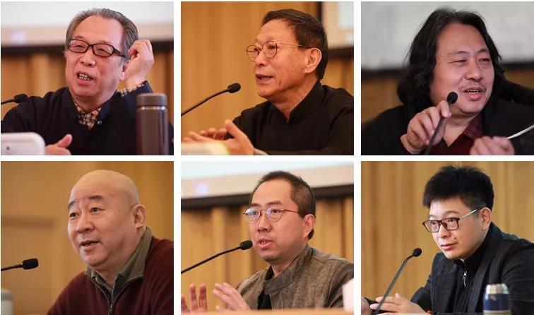 郭石夫、吴悦石、贾广健、范扬、乔宜男、王平老师为学员授公共课