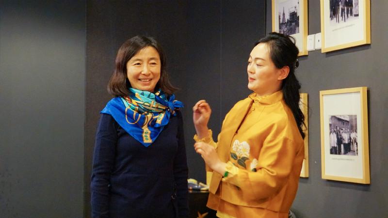 """""""香琴雅集""""活动现场老师带来一系列文化活动表演"""
