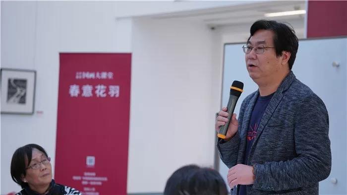 中国国家画院研究员李晓军授课