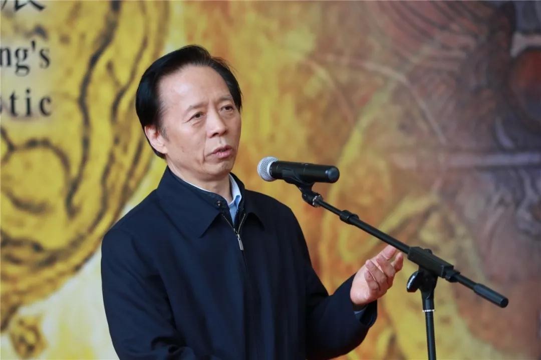 文化部原副部长、中国艺术研究院原院长王文章致辞