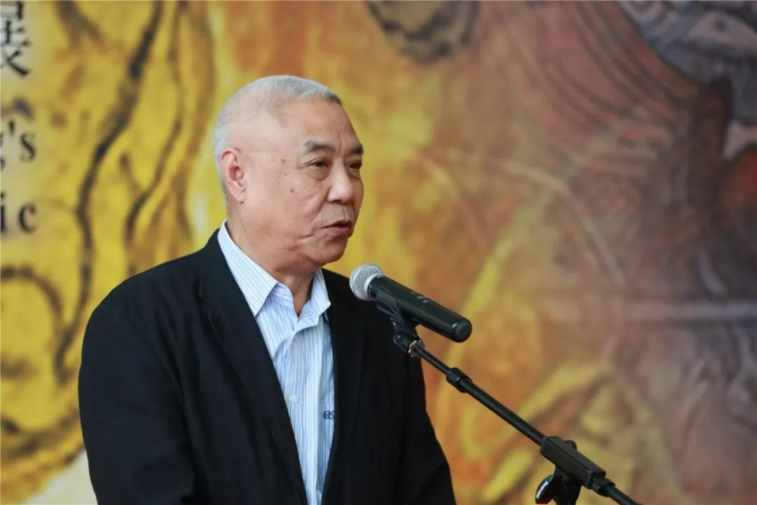 天津美术学院原院长姜陆致辞