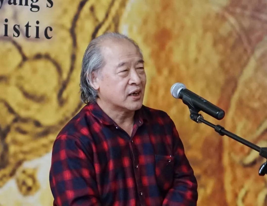中国美协副主席、天津美协主席王书平致辞
