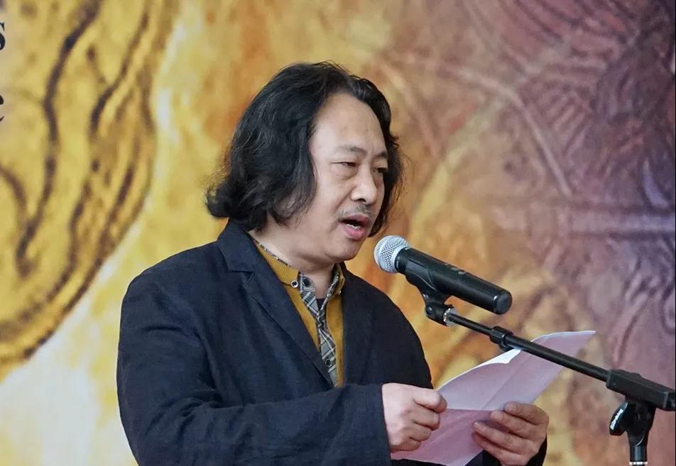 天津美术学院副院长、中国国家画院教学部主任贾广健致辞
