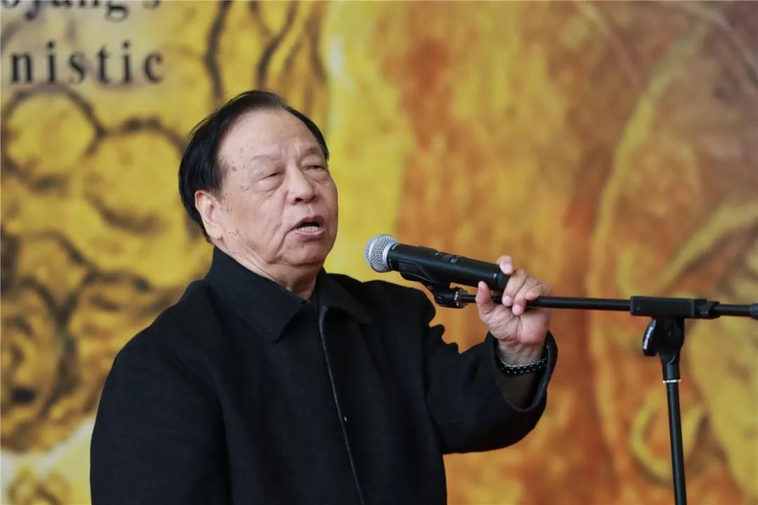 天津美术学院原副院长张蒲生致辞