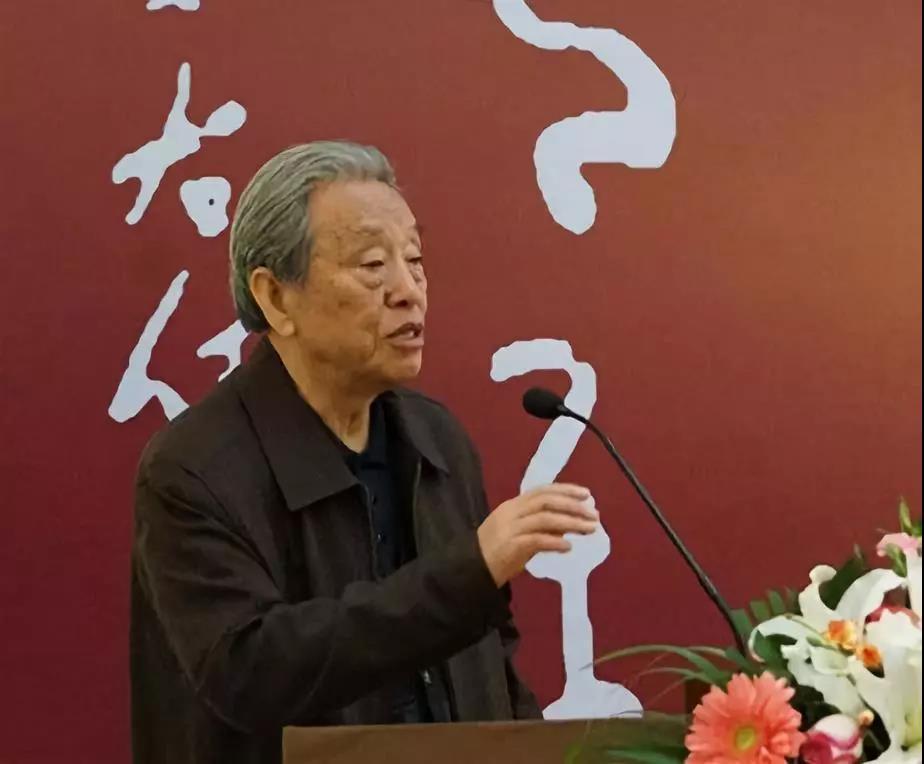 中国书法家协会顾问、中国国家画院院院委申万胜致辞
