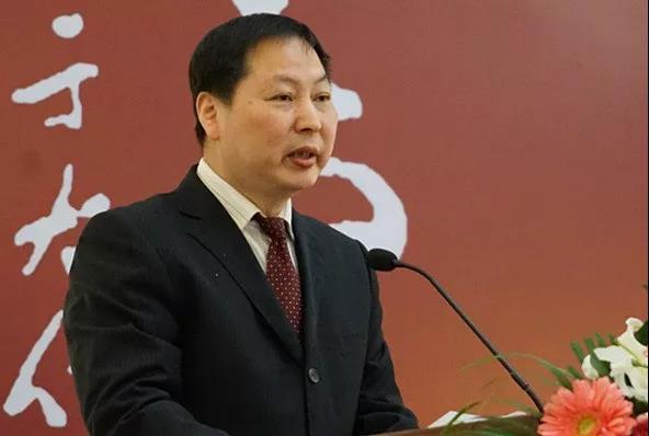 中国标准草书学社副社长凌建平致辞