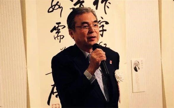 公益财团法人、日本全国书美术振兴会理事长高木圣雨致辞