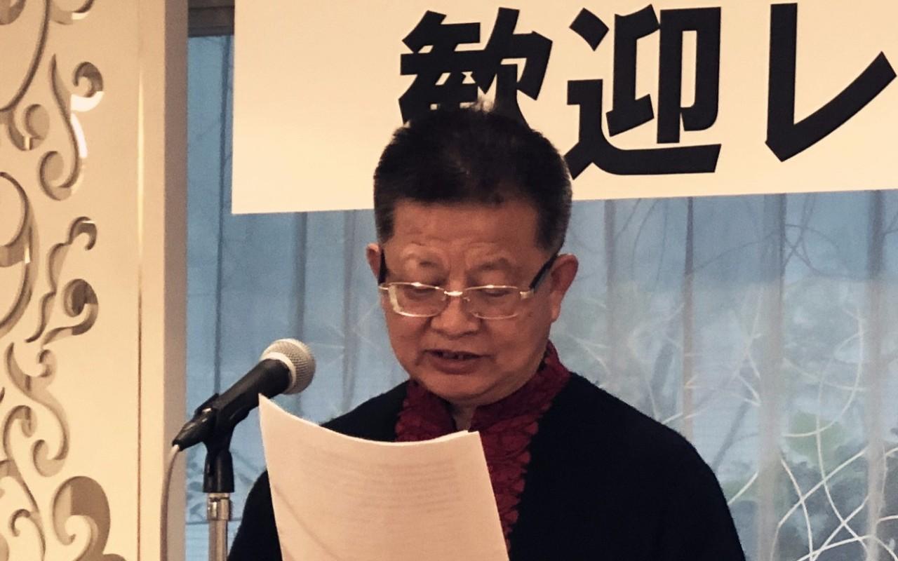 中国国家画院原副院长曾来德致辞