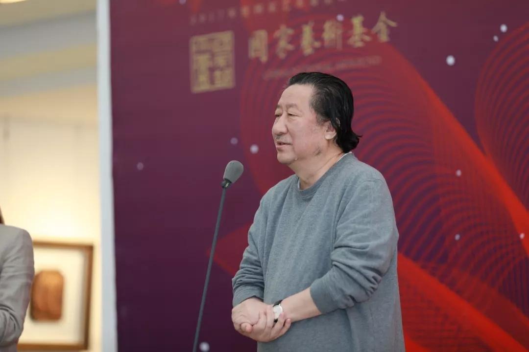 中国美术家协会副主席、中国国家画院原院长杨晓阳致辞