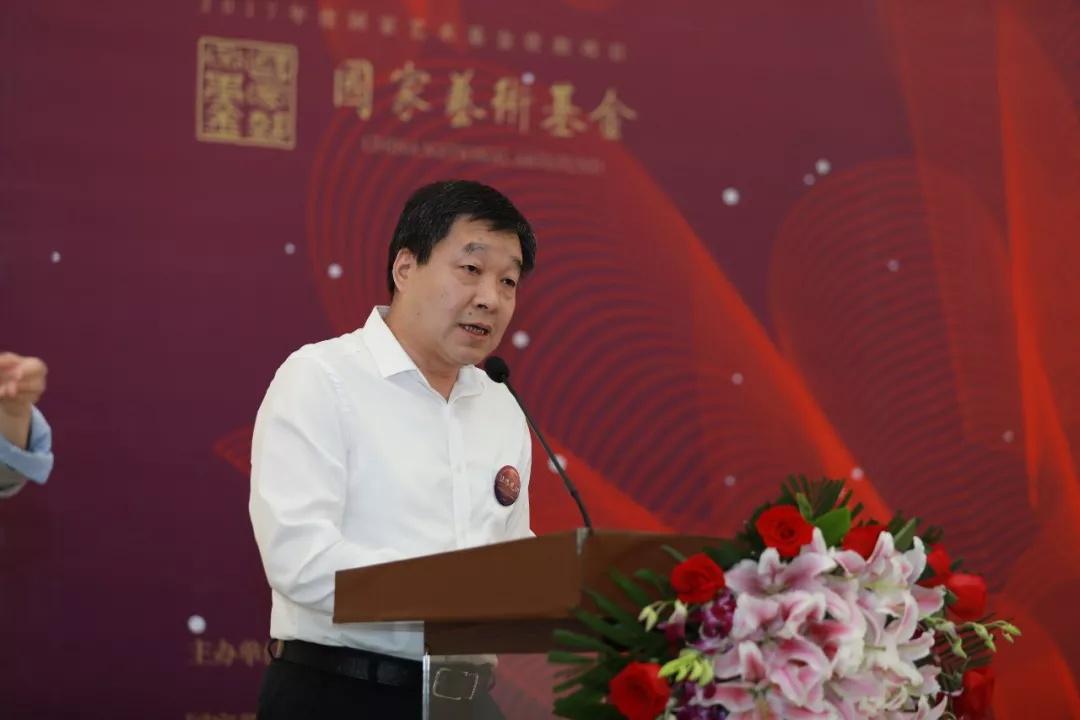 陕西省残疾人联合会副理事长贾乃荣致辞
