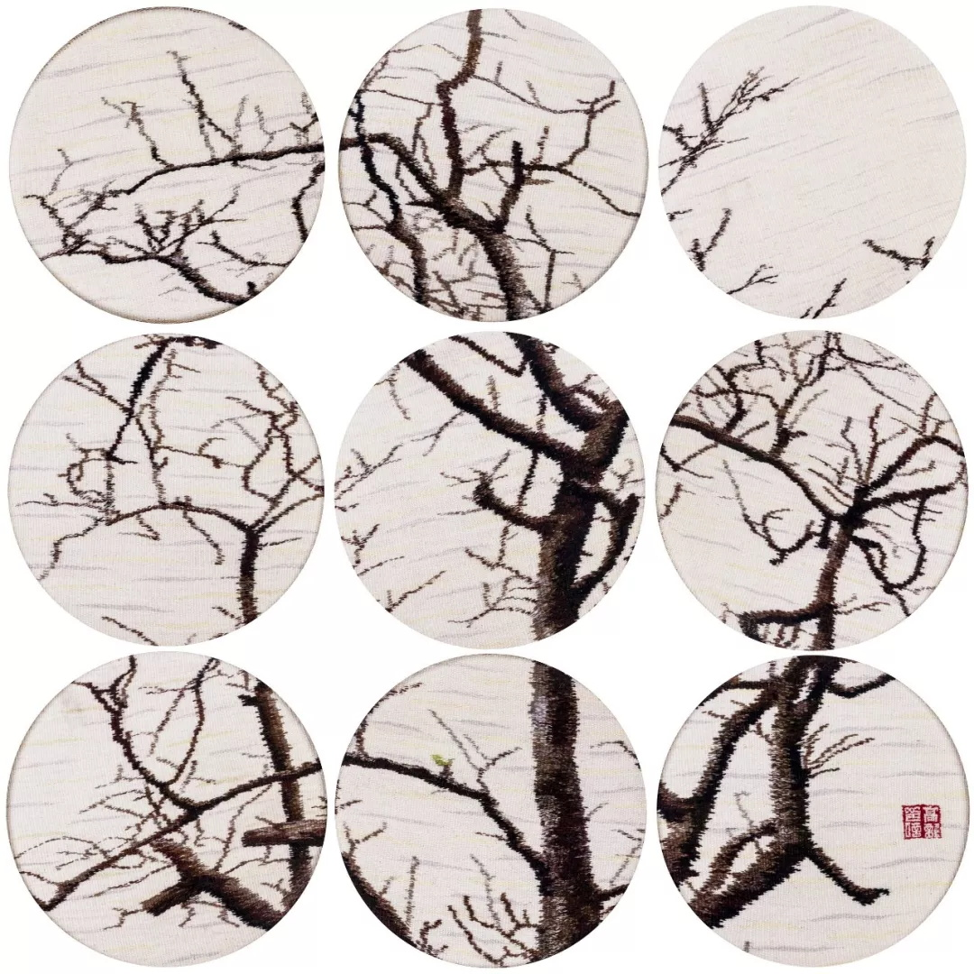 高龙  生命·中国传统水墨系列  纤维编织