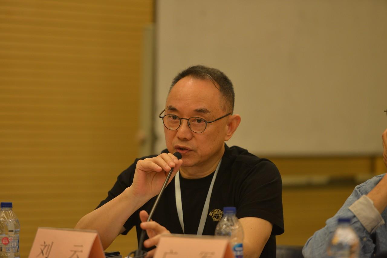 艺评会副主任,湖南省文联副主席刘云介绍展览筹备细节
