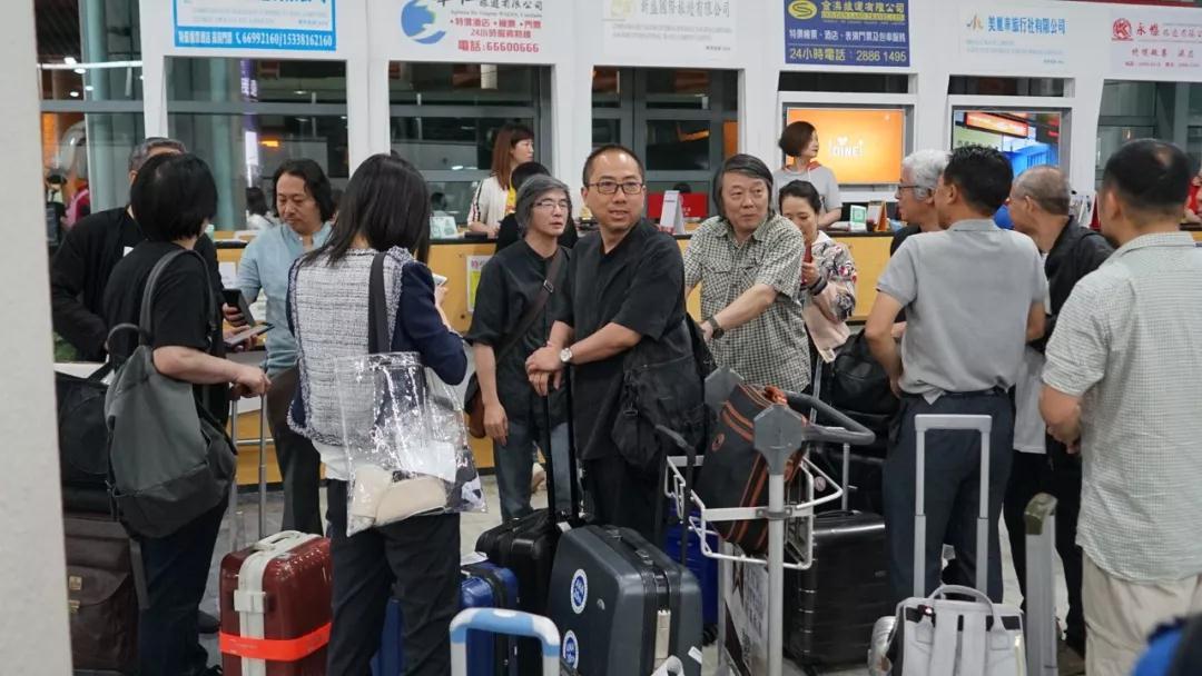 中国国家画院采风团抵达澳门