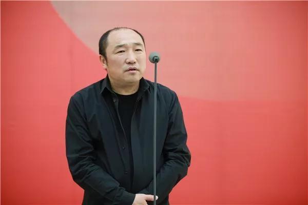 中国国家画院常务副院长卢禹舜发言