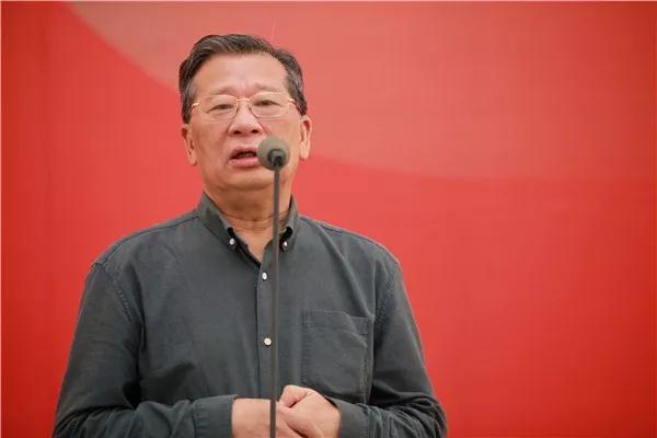 广东画院原院长、中国美协原副主席许钦松发言