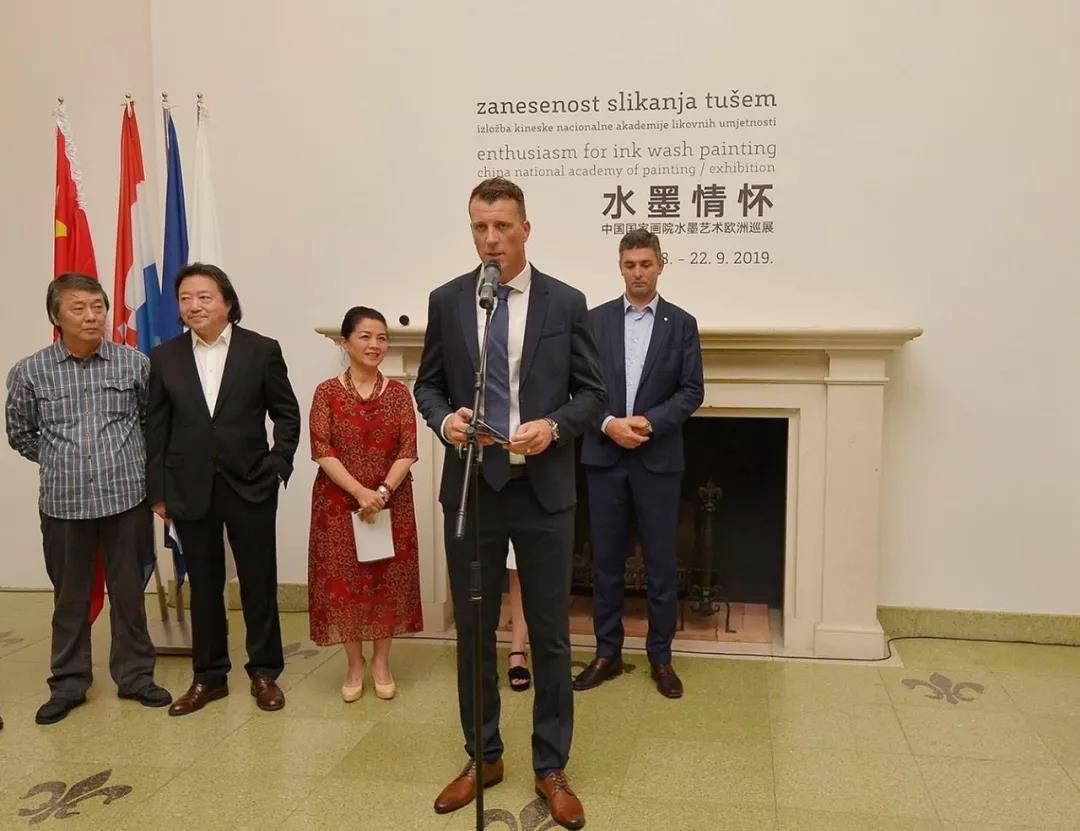 克罗地亚杜布罗夫尼克现代艺术博物馆馆长通科·斯莫克维那致辞