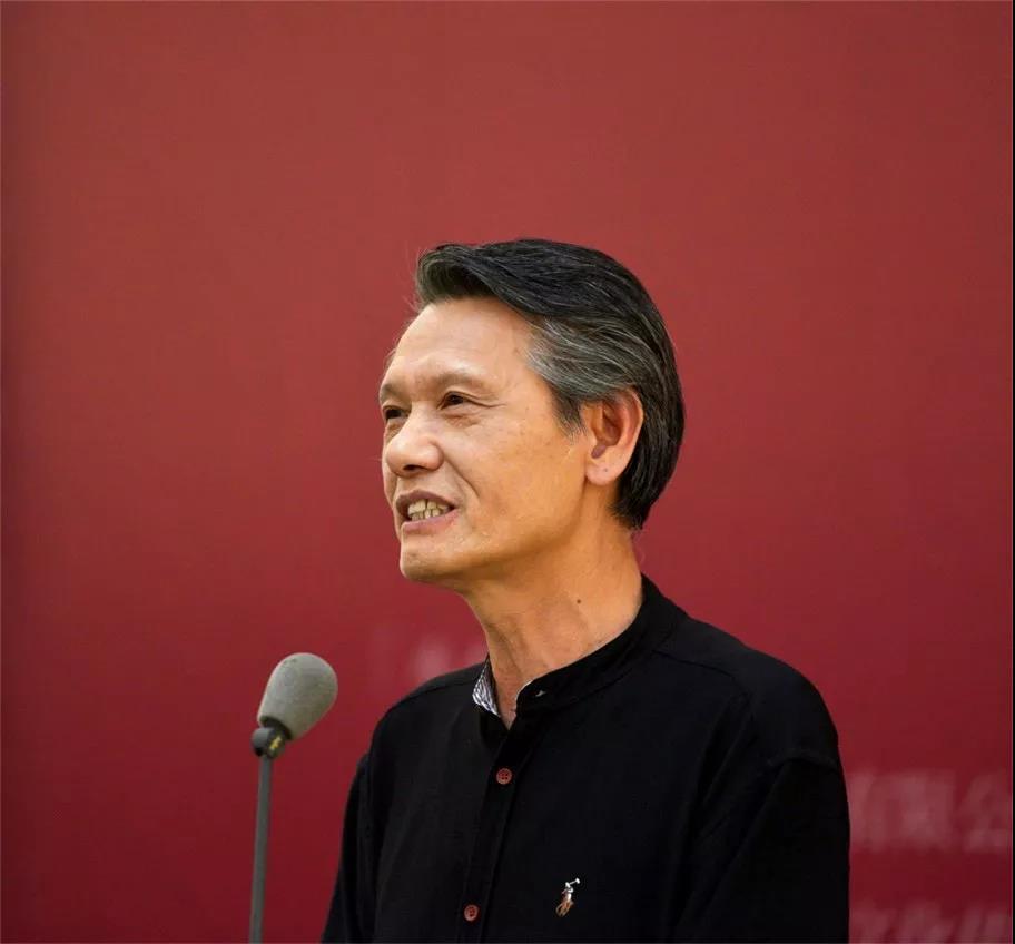 中国书法家协会副主席刘洪彪致辞