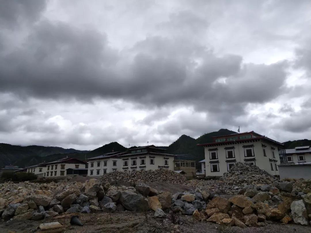 纳格拉地区村庄建设中