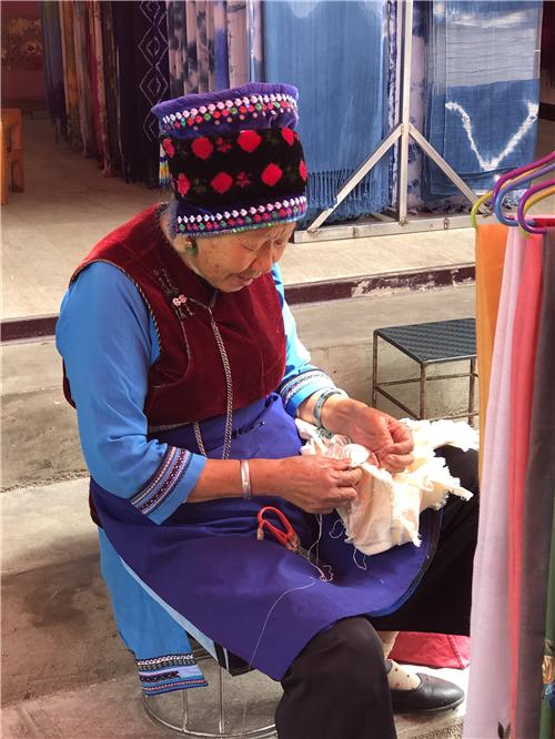 白族传统扎染手工艺制作
