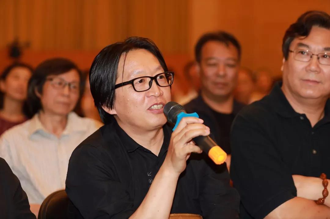 中国国家画院创作研究部副主任、艺术家赵培智发言