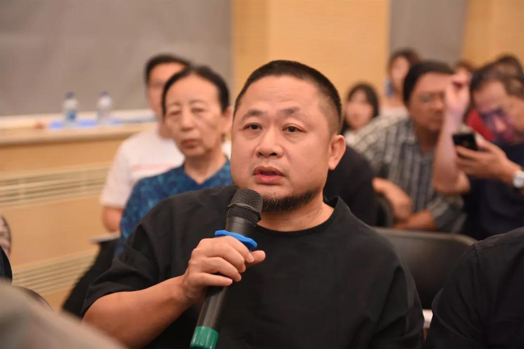 中国国家画院艺术家方向发言