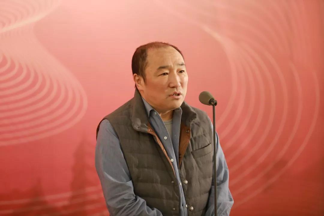 中国国家画院常务副院长卢禹舜致辞