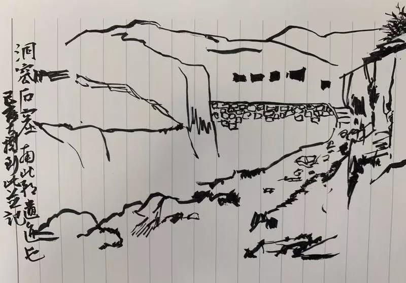蔡大礼  手记之二:洞窊石窟