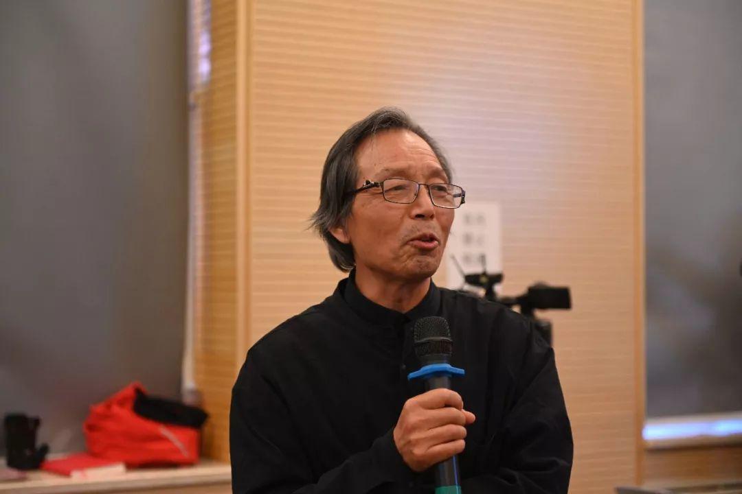 中国国家画院艺术家张立柱发言