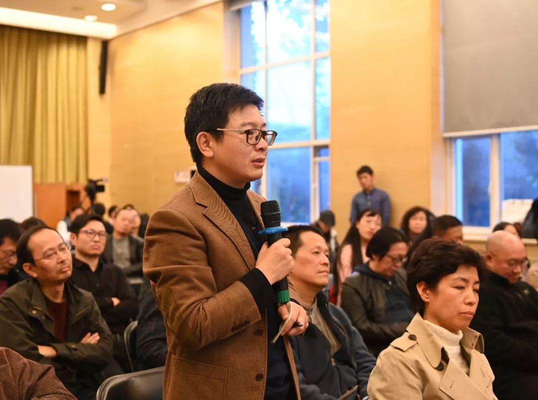 《中国美术报》社长、总编辑王平发言