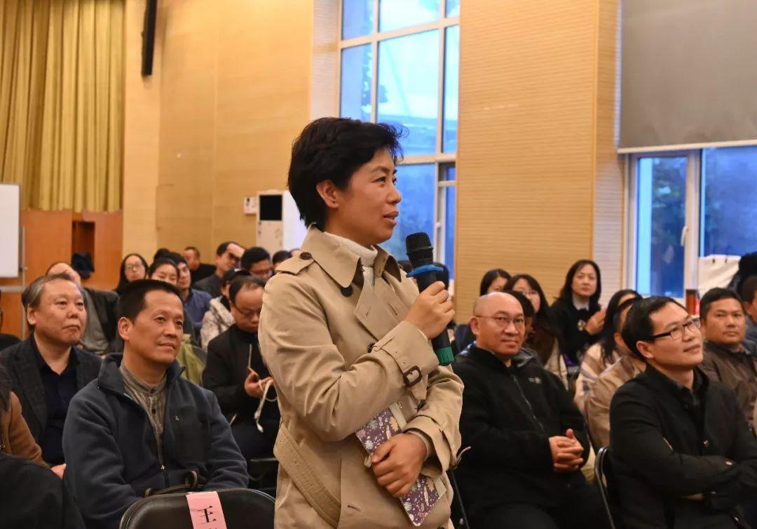 中国国家画院党委副书记、纪委书记王青云提问