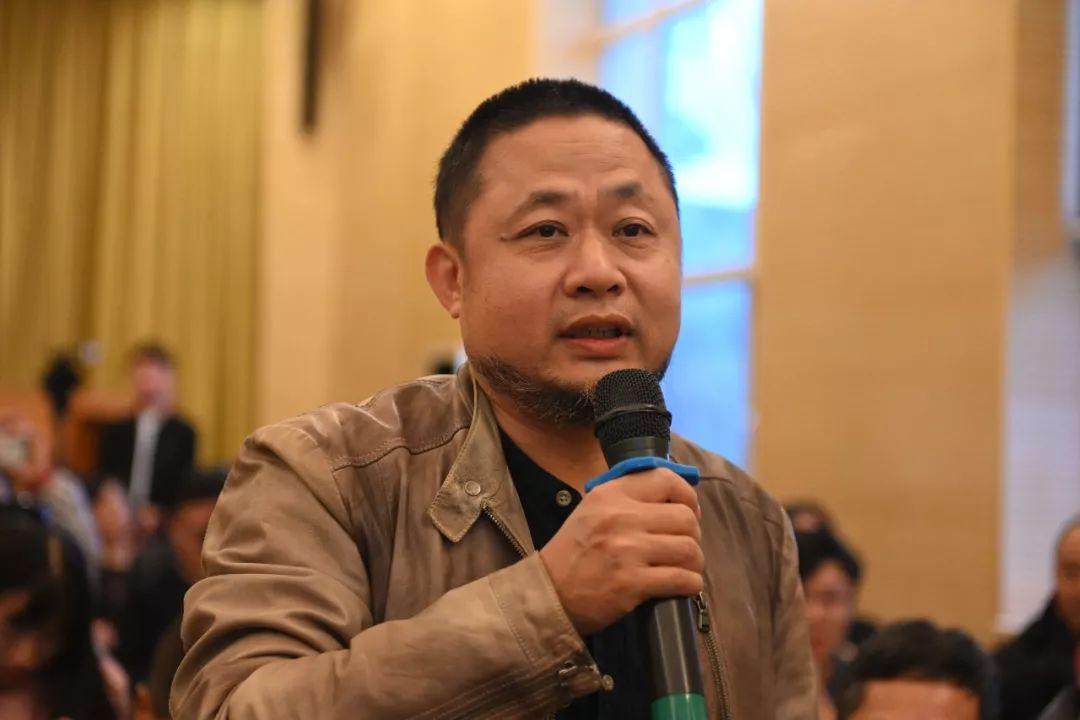 中国国家画院艺术家方向发言并提问