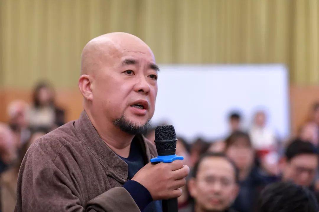 中国国家画院艺术家方土提问