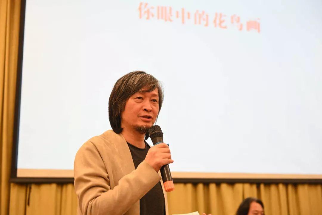 学术日主持人、中国国家画院美术馆馆长、艺术家何加林