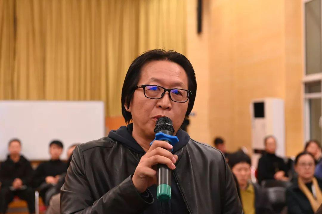 中国国家画院艺术家赵培智发言