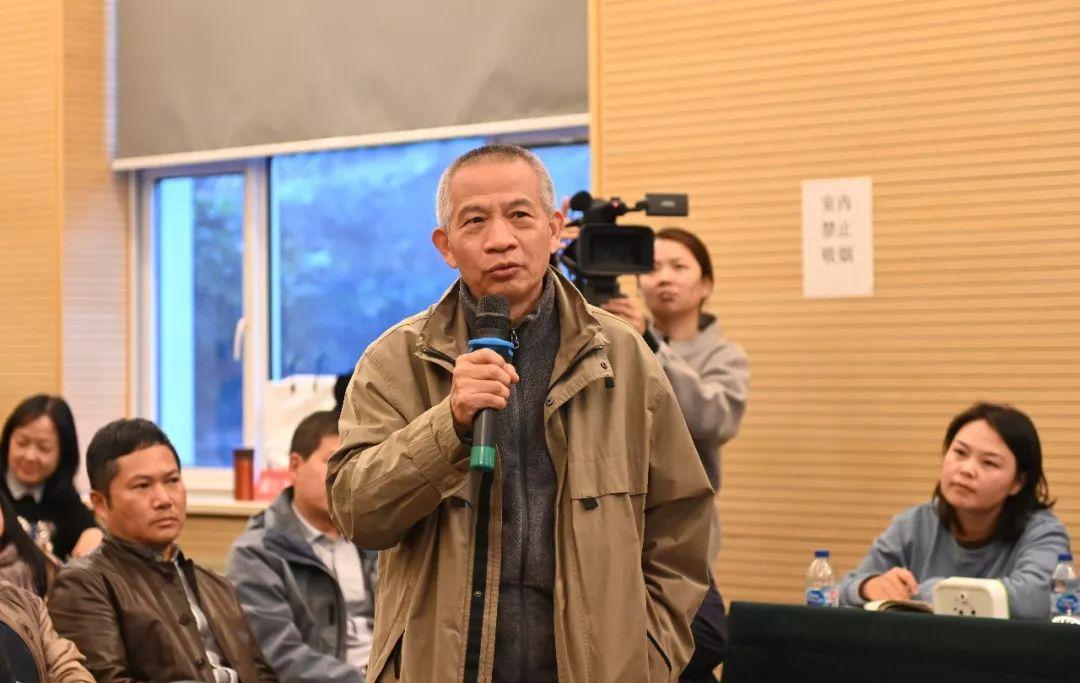 中国国家画院艺术家赵奇发言