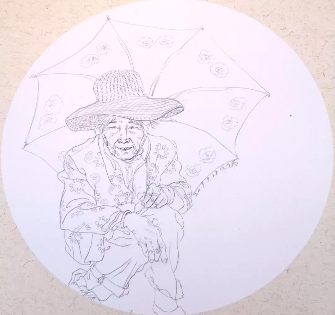 雨中憩  2019