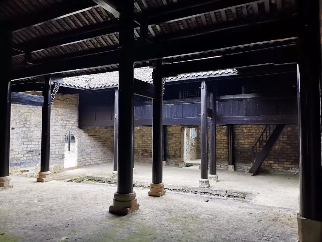 刘邓大军前线指挥部,周氏老宅旧址局部