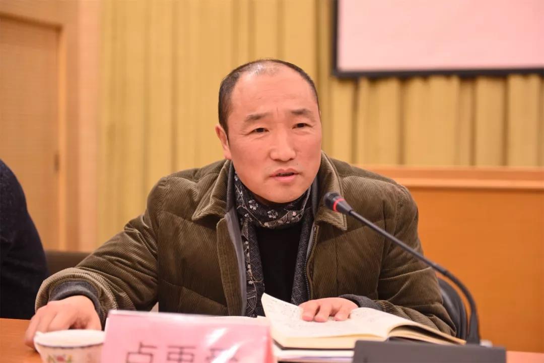 中国国家画院常务副院长卢禹舜讲话