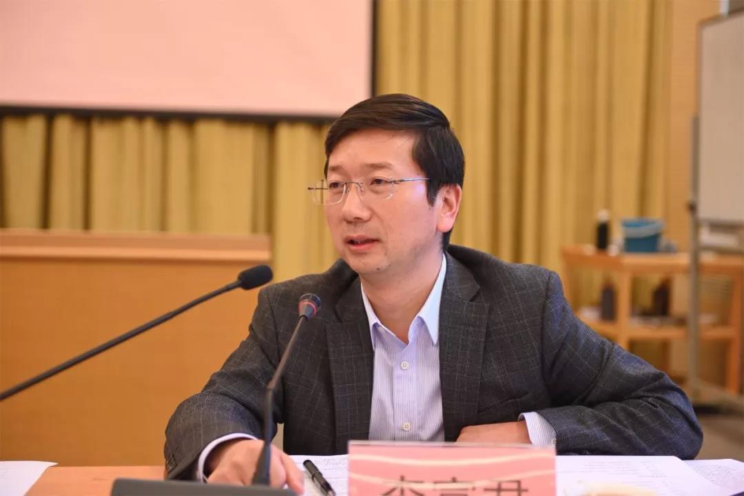 国务院扶贫办政法司副司长李富君讲话