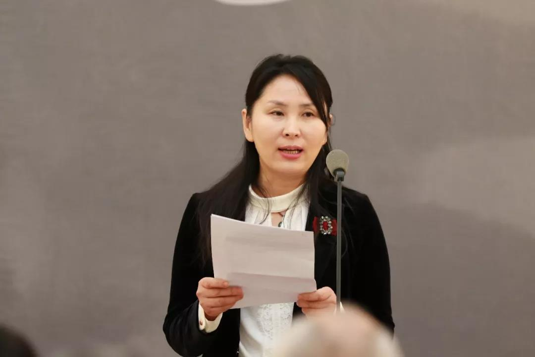 中国美术家协会副秘书长(挂职)汪帅红致辞