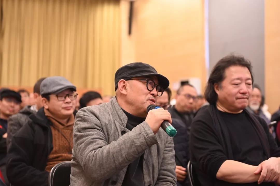 中国国家画院人物画所艺术家梁占岩发言